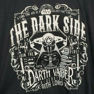 The dark side join the empire Darth Vader T Shirt